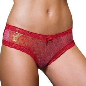 Victoria's Secret Very Sexy Sequin Cheeky Panty
